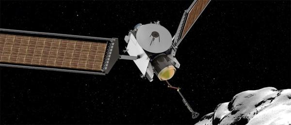 CAESAR: la misión traerá a la tierra una muestra del núcleo delcometa 67P/Churyumov-Gerasimenko. (NASA)