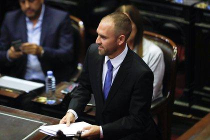 En la imagen, el ministro de Economía de Argentina, Martín Guzmán. EFE/Juan Ignacio Roncoroni/Archivo