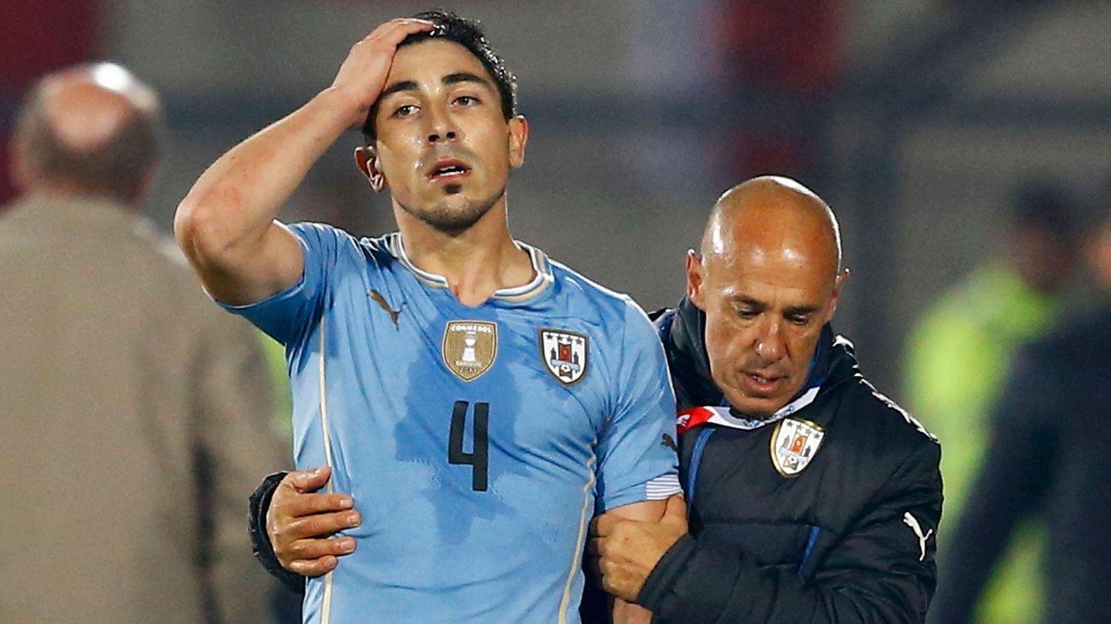 Fucile es uno de los nombres emblemáticos de la selección uruguaya (Foto: Reuters)