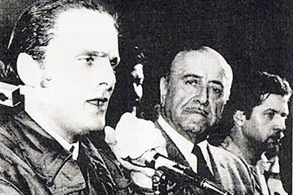 Rodolfo Galimberti y Héctor J. Cámpora