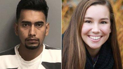 El sospechoso, Christian Bahena Rivera, y la víctima, Mollie Tibbetts