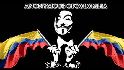 Anonymous revela correos y contraseñas de miembros del Ejército y manda un mensaje de rechazo al Gobierno de Duque