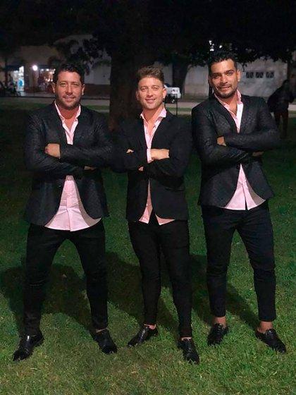 La nueva formación de Tupachi;  Corvalán, Fernando Bittar y César Palavecino