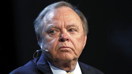 Arrastrado por esta crisis del petróleo, el empresario estadounidense Harold Hamm perdió la mitad de su fortuna. Aaron M. Sprecher/Bloomberg