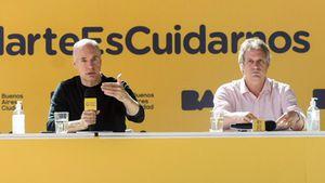 El gobierno porteño evalúa ir a la Corte para defender las clases presenciales y rechazar la intervención de las fuerzas federales