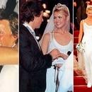 El casamiento de Valeria Mazza y Alejandro Gravier, uno de los emblemas de los '90