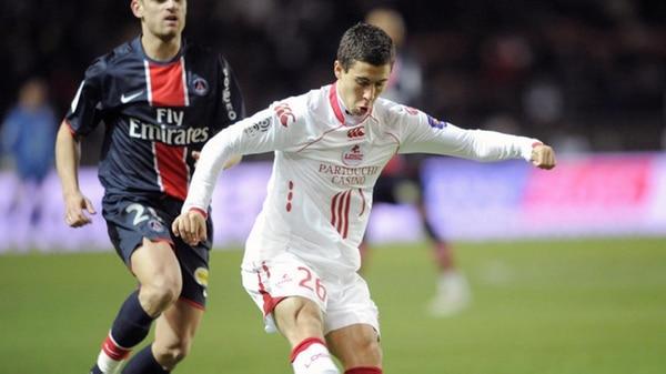 Eden hazard se marchó al Lille con solamente 14 años