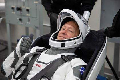 El astronauta de NASA Douglas Hurley (NASA/Kim Shiflett via REUTERS)