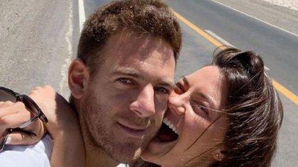 Juan Martín del Potro y Jujuy Jiménez tuvieron una convivencia forzada durante esta pandemia que provocó la ruptura de la pareja (Instagram)