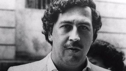 Pablo Escobar, líder del Cartel de Medellín y socio del clan Ochoa.