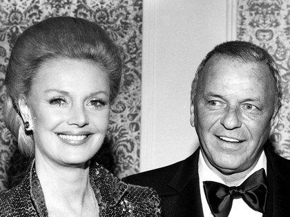 Frank Sinatra y BarbaraMarx, su cuarta y última esposa (Shutterstock)