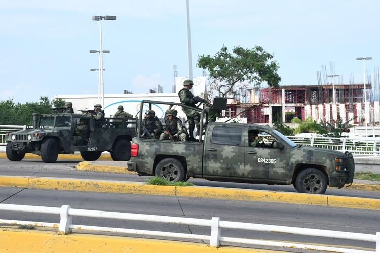 Los militares enfrentaron al Cártel de Sinaloa en Culiacán (Foto: Archivo)