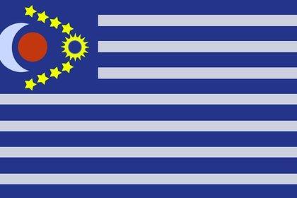 La bandera Galáctica que creó Hope