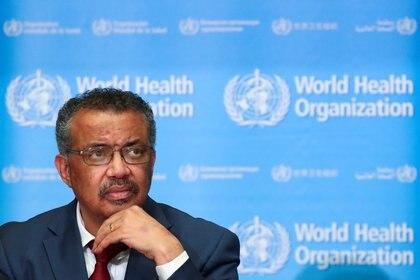 Tedros Adhanom Ghebreyesus, el director general de la OMS (Reuters)