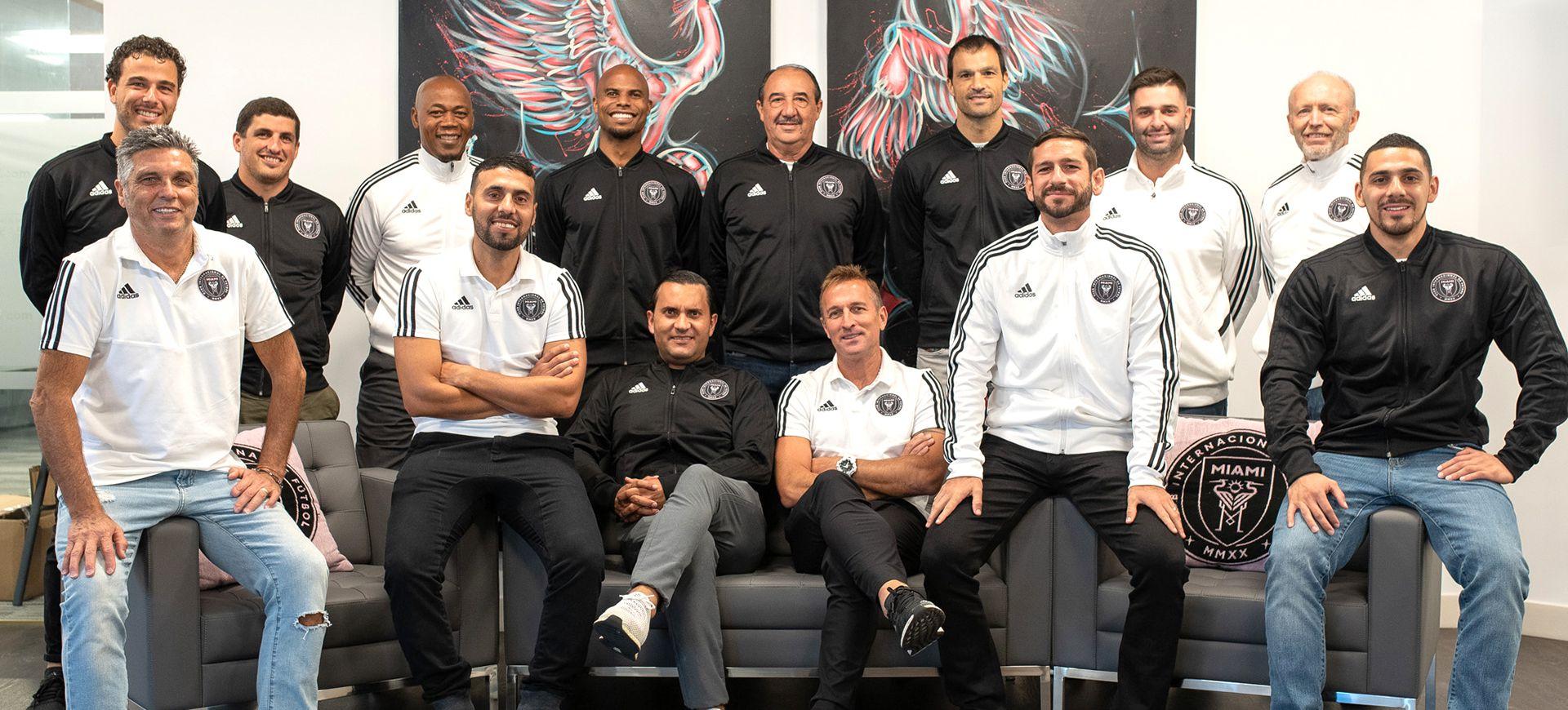 El argentino Javier Morales es el entrenador de la Sub 17 del Inter Miami (intermiamicf.com)
