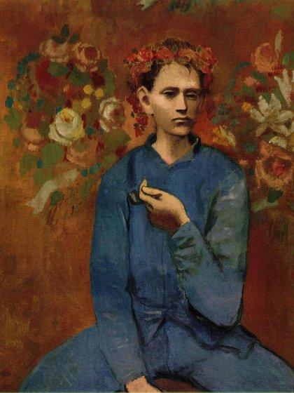 Chico con pipa(1905)