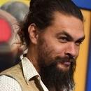 Cast member Jason Momoa arrives at the world premiere of