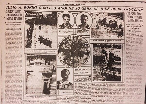 Bonini se confiesa en el diario La Nación