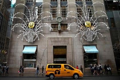 La icónica tienda de Tiffany en la Quinta Avenida de Nueva York (Reuters)