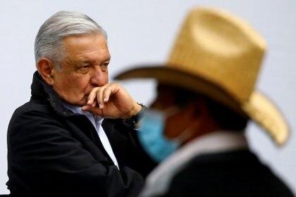 """Ningún presidente se había atrevido a plantearlo de manera tan firme y categórica"", manifestó Monreal. (Foto: Reuters/Edgard Garrido)"