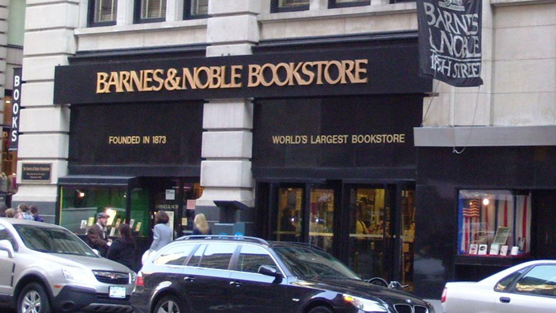 Barnes & Noble la cadena de Estados Unidos que acaba de comprar Daunt