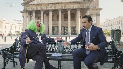 Brozo y Loret actualmente aún comparten colaboraciones humorísticas del ámbito político del país (Foto: Captura de pantalla)