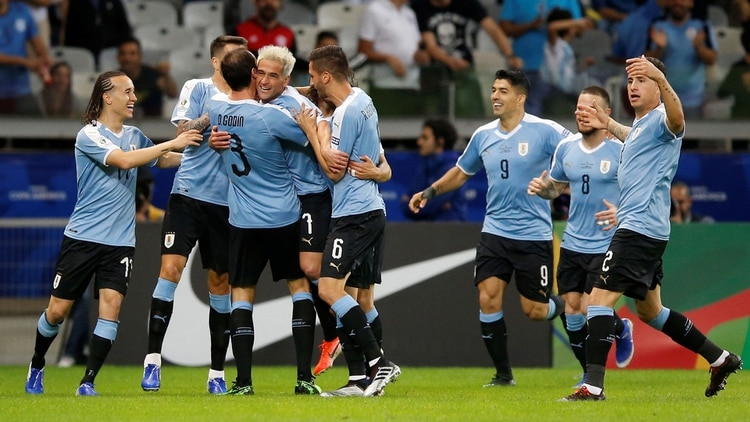 Uruguay goleó 4 a 0 a Ecuador (Reuters)