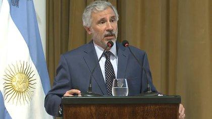 Gustavo Cañonero, ex vicepresidente del Banco Central.