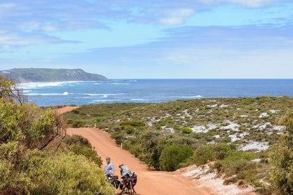 Kilómetro tras kilómetro, los integrantes de The Bikings Project viven cada momento con intensidad