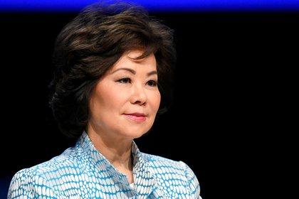 Elaine Chao, secretaria de Transporte de Estados Unidos (REUTERS/Piroschka van de Wouw/Archivo)