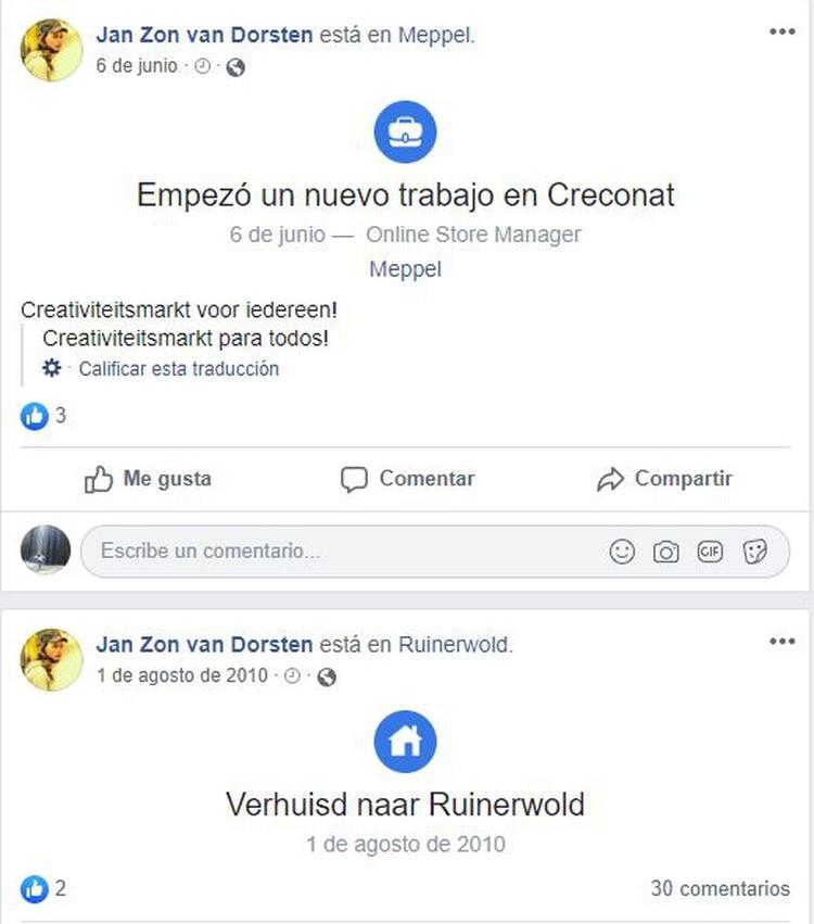 El joven de 25 años reactivó su cuenta de Facebook hace cuatro meses. (Foto: Facebook)