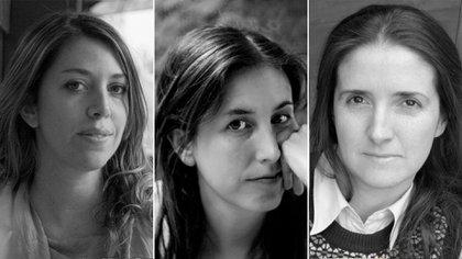Lucía Puenzo, Carla Maliandi y María Gainza