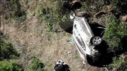 El accidente ocurrió a las 7.12, hora de Los Ángeles (Reuters)