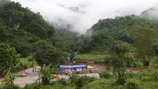 Tham Luang se encuentra en el norte del país (AP)