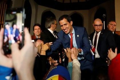Juan Guaidó en Canadá (REUTERS/Patrick Doyle)