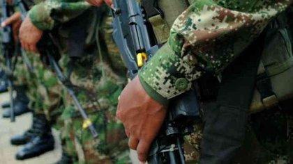 Mina antipersona deja dos soldados muerto y otros dos heridos en Catatumbo, Norte de Santander