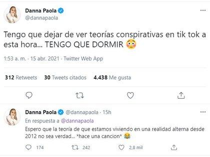 (Foto: captura de pantalla de Twitter/@dannapaola)
