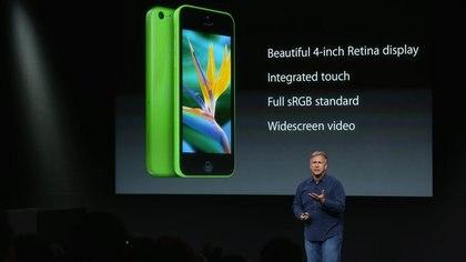 Los colores del iPhone 5C recuerdan a la gama de tonos elegida por&nbsp;<b>Nokia&nbsp;</b>para sus&nbsp;<b>Lumia&nbsp;</b>y por&nbsp;<b>Google&nbsp;</b>con su&nbsp;<b>Moto X</b> AFP 162