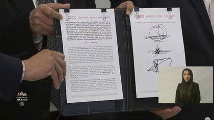 López Obrador dijo que seguirán trabajando en beneficio a la población (Foto: Captura de pantalla)