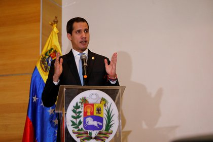 Juan Guaidó, presidente interino de Venezuela (REUTERS/Leonardo Fernandez Viloria)