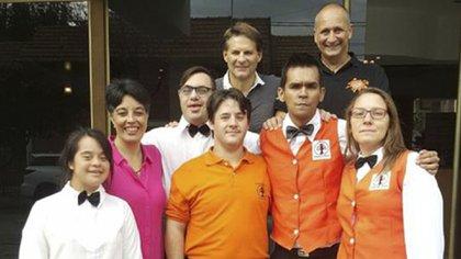 El equipo de Albergo Etico en el hotel El Cid