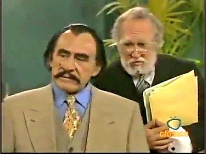 El actor alternó con Héctor Suárez (Foto: captura de pantalla)