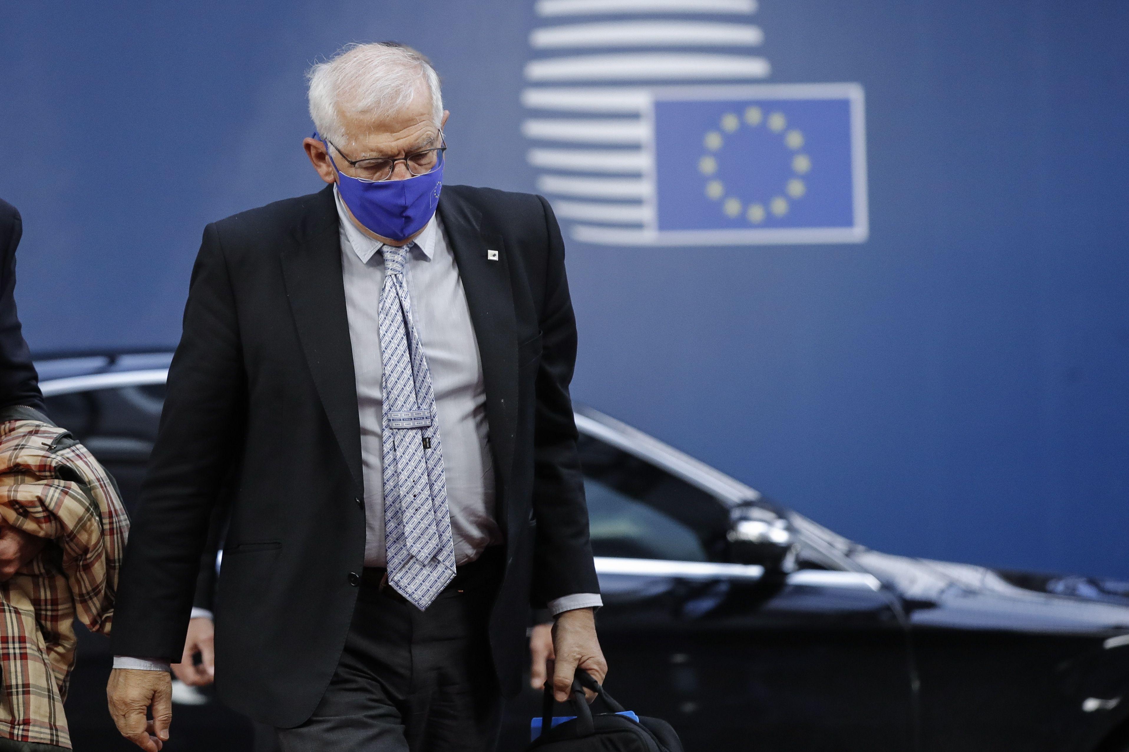 El alto representante de la Unión Europea (UE) para la Política Exterior, Josep Borrel. EFE/EPA/OLIVIER HOSLET / Archivo