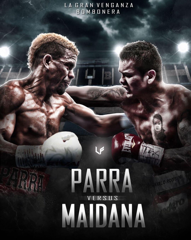 Chino Maidana vs Parra cartelera