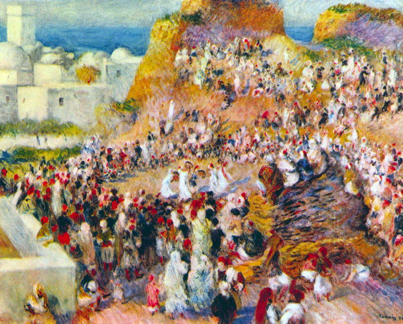 La fiesta árabe