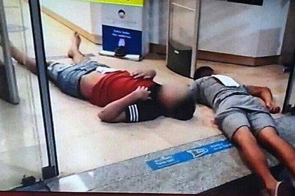 Dos ladrones baleados. Uno de ellos murió