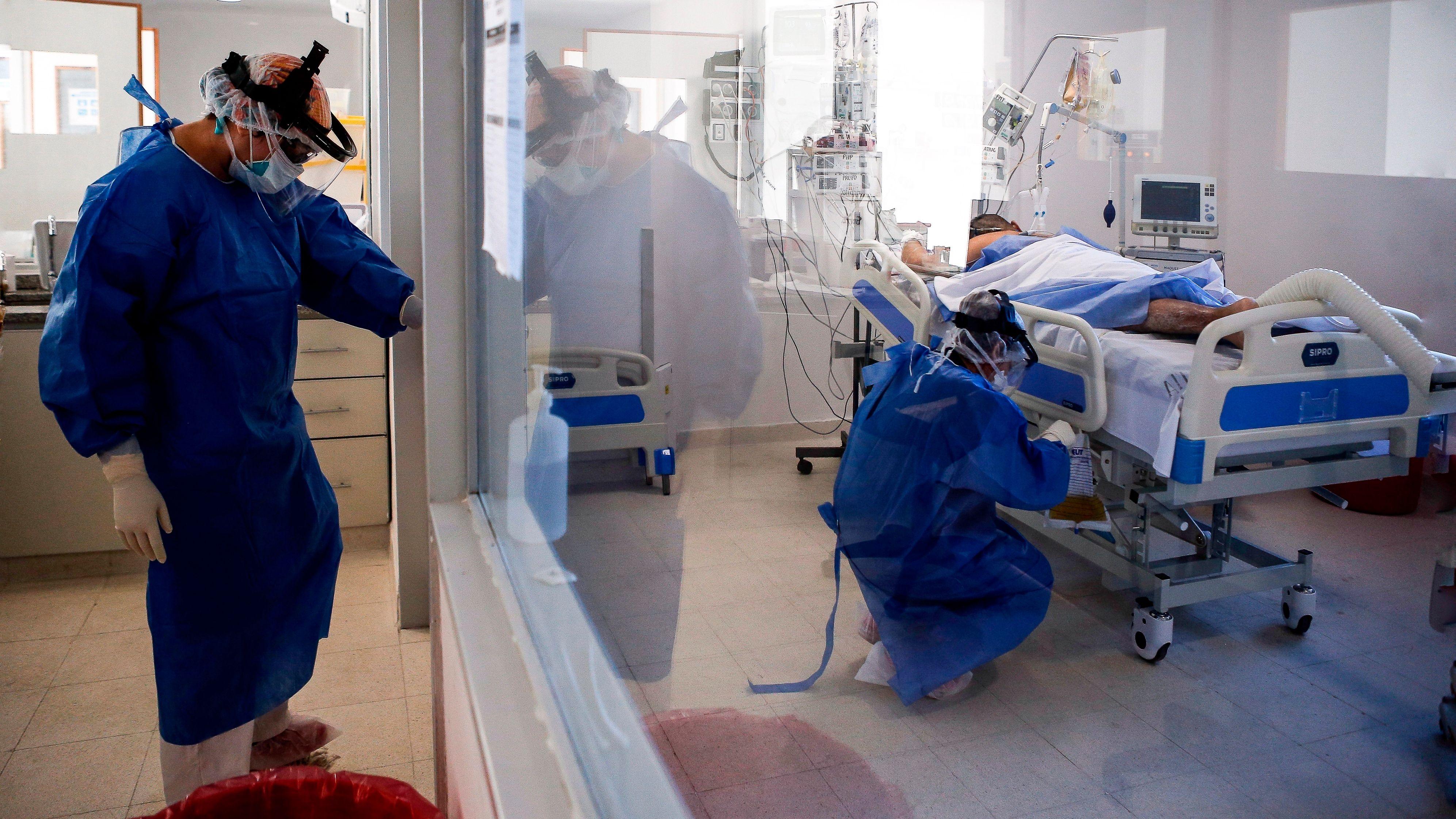 Axel Kicillof puso el foco en la ocupación de las camas de terapia intensiva