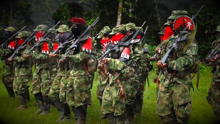 Se cree que el grupo terrorista colombiano ELN, cercano al chavismo, asiste en la explotación no oficial de las minas