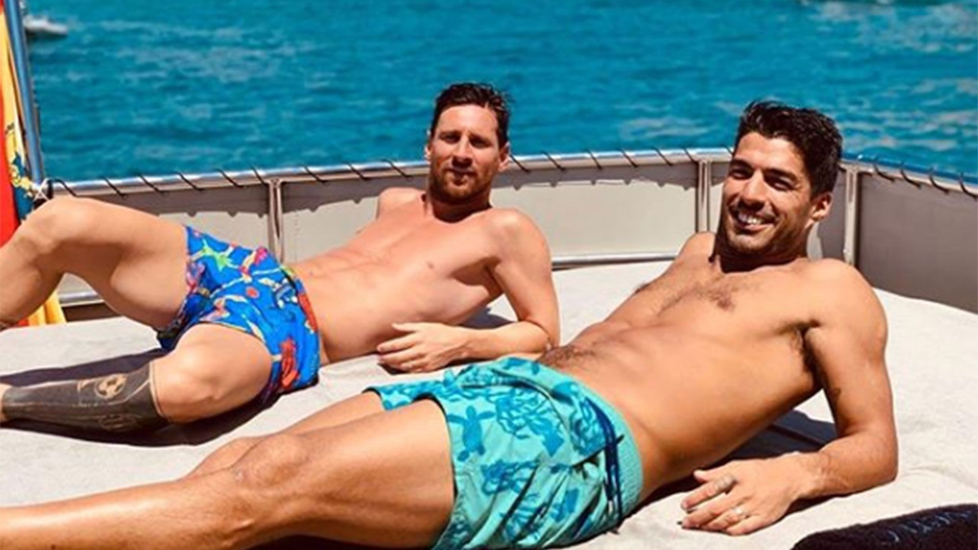 Lionel Messi y Luis Suárez comparten habitualmente vacaciones
