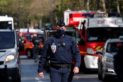 Cuatro personas resultaron heridas en el ataque (REUTERS/Gonzalo Fuentes)